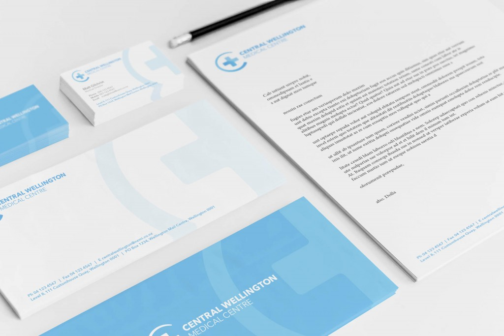 Central Wellington Stationery Mockup 01