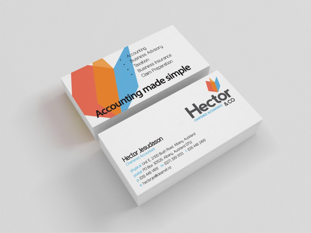 Hector & Co Business Cards