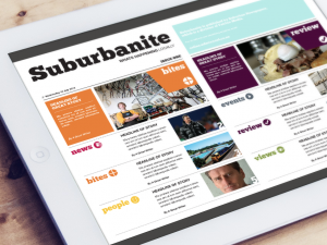 Suburbanite Magazine Contents