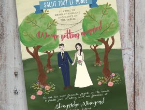 Wedding Invite Front