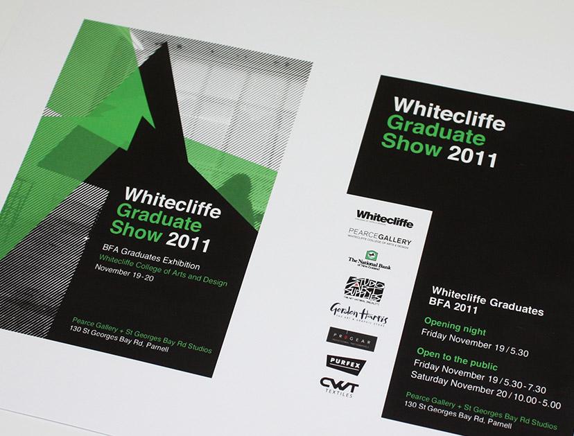 Whitcliffe Exhibition Flyer